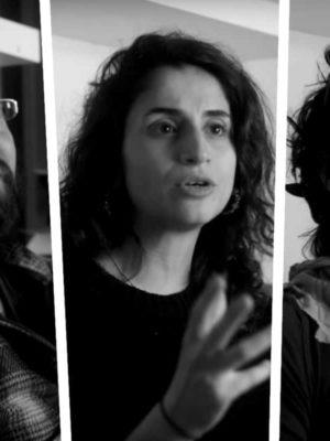 """In """"Open Mic Days"""" sprechen die Berliner Comedians Ori Halevy, Carmen Chraim und Liliana Velásquez über Stand-up"""
