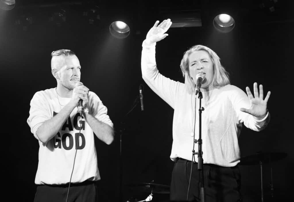 Politisch korrekte Comedy: Josef Jöchl und Denice Bourbon vom PCCC*