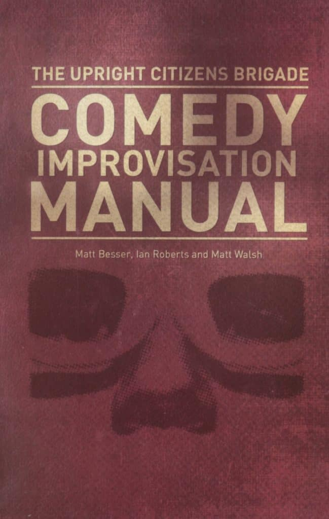 "Buchcover des ""Comedy Improvisation Manual"" der UCB"