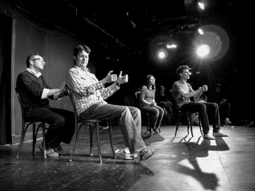 Eine Szene aus dem UCB-Theatre in New York