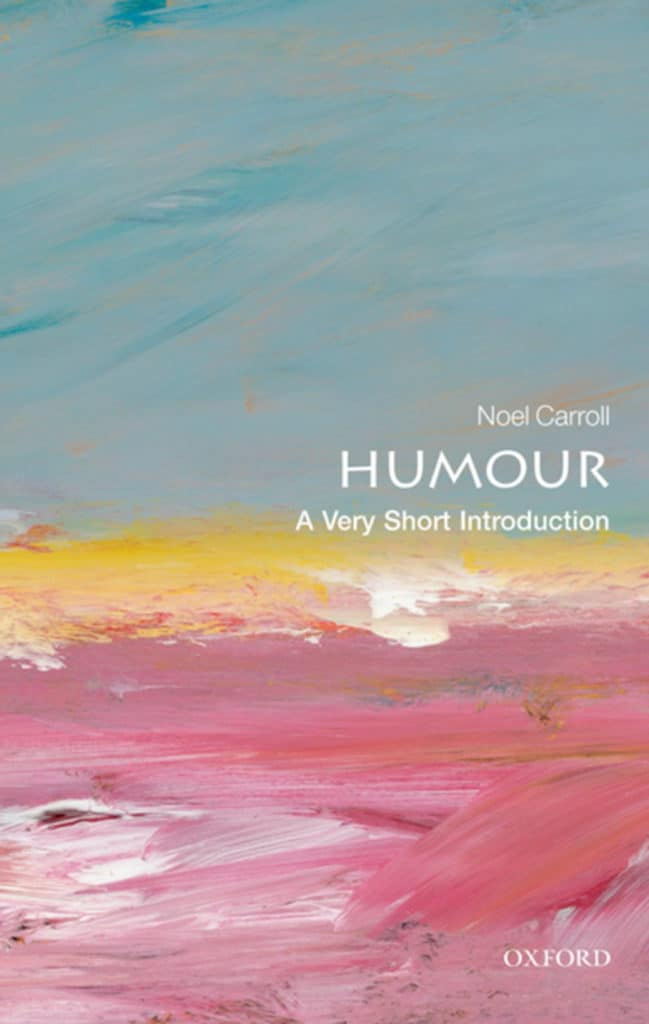 "Buchcover von ""Humour. A Very Short Introduction"""