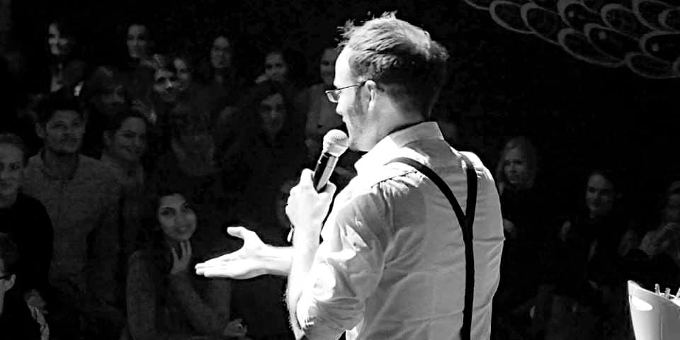 Comedian und Host Paul Salamone