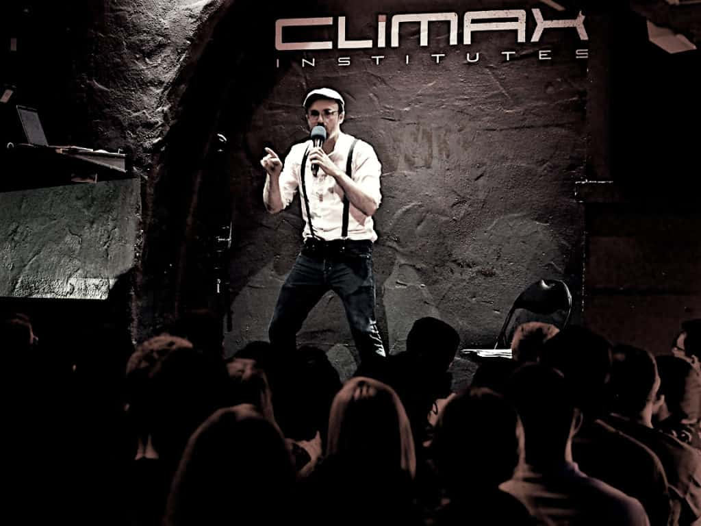 Stand-up-Comedian Paul Salamone
