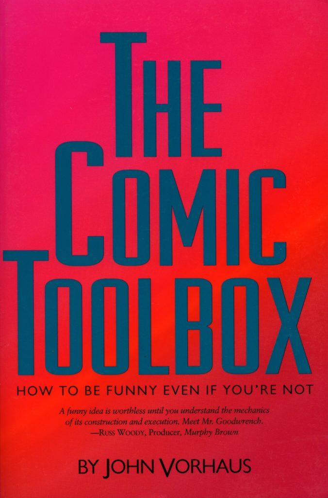"""Buchcover von """"The Comic Toolbox"""" von John Vorhaus"""