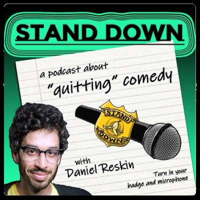 Podcast Stand down mit Daniel Reskin