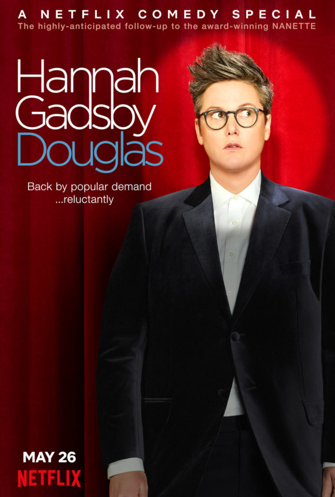 """Plakat zum Special """"Douglas"""" von Hannah Gadsby"""