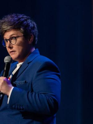 Die australische Stand-up-Comedienne Hannah Gadsby