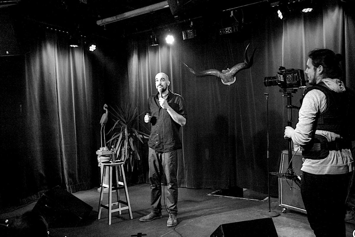 Comedian Thomas Kornmaier bei Fun's Not Dead