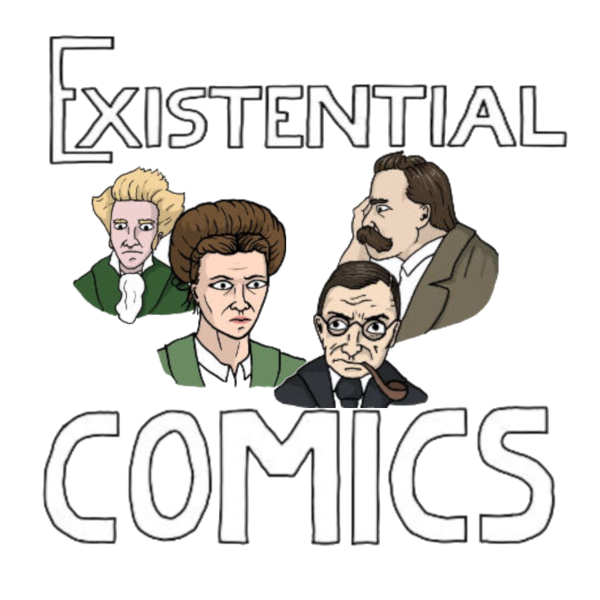 Existential comics about philosophy