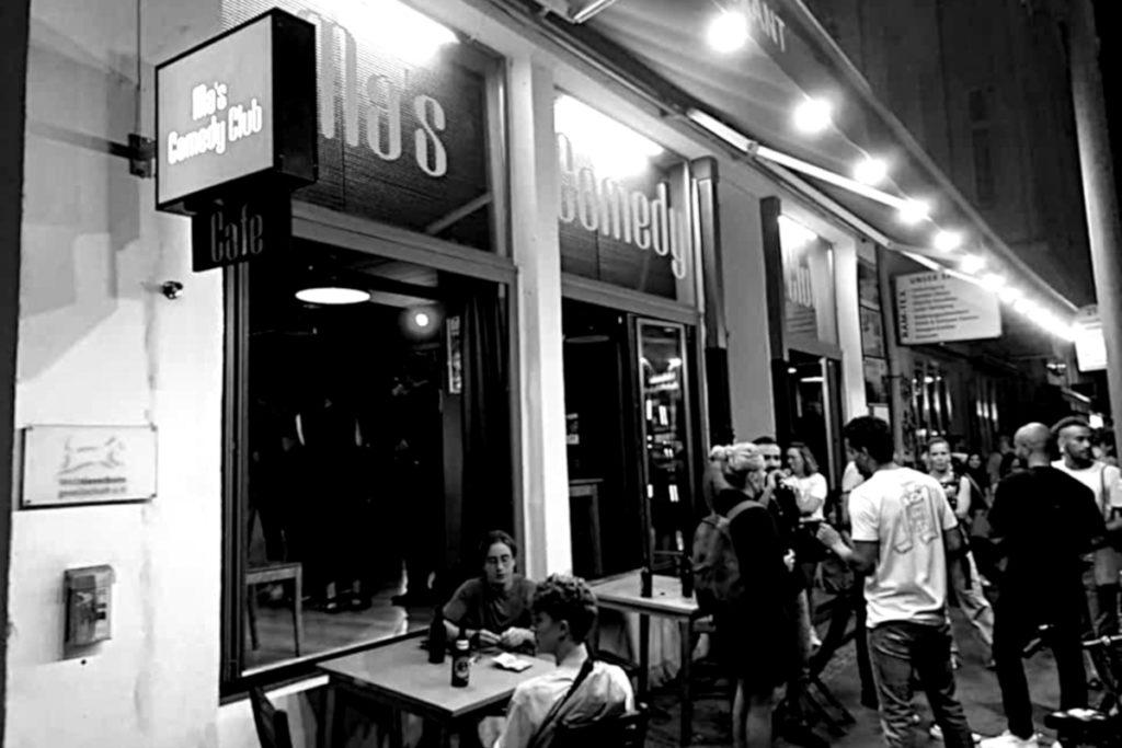 Ma's Comedy Club in der Reinhardtstraße in Berlin-Mitte