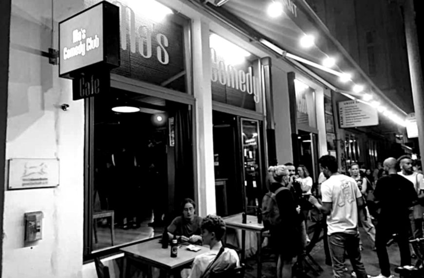 Ma's Comedy Club in Berlin: Von Comedians für Comedians