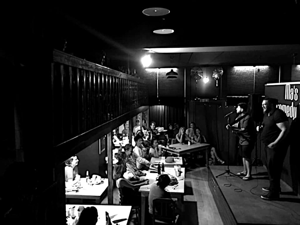 Zuschauerraum in Ma's Comedy Club in Berlin