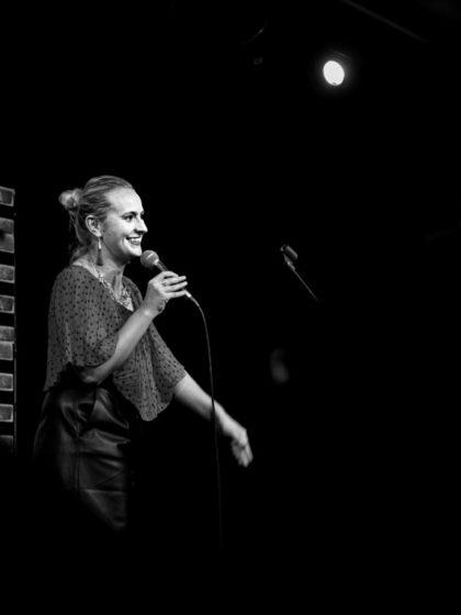 Czech comedienne Lucie Machackova