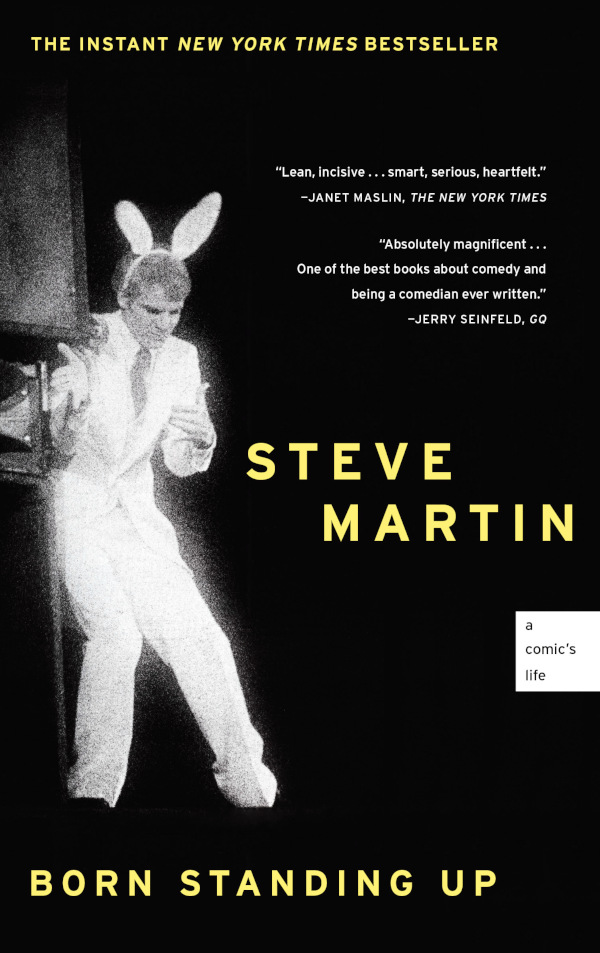 Cover von Born Standing Up von Steve Martin