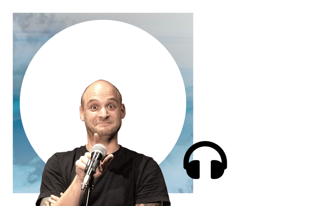 Stand-up-Comedian Mathias Haze