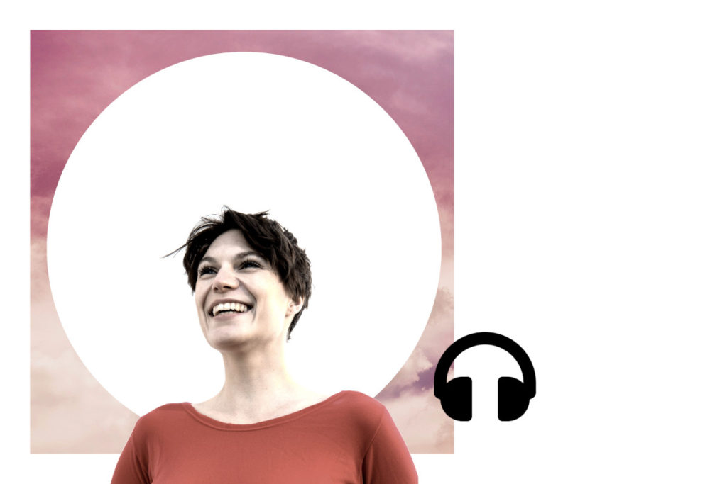 Kabarettist*in Elena Wolff