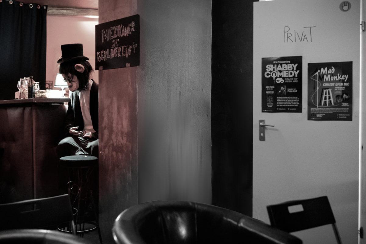 Szene aus dem Mad Monkey Room in Berlin
