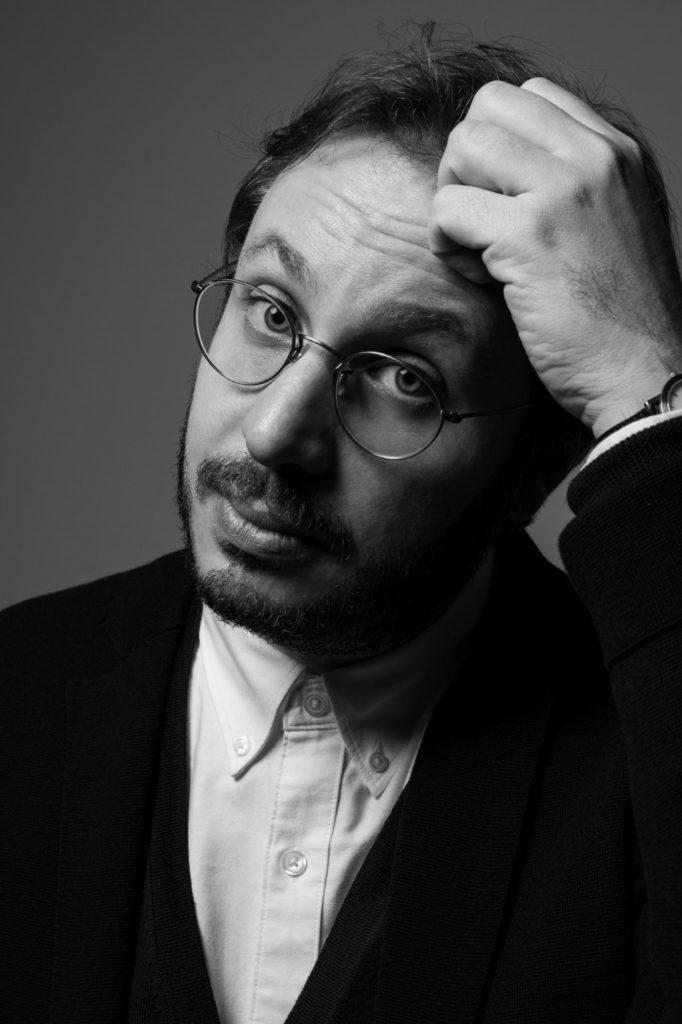 Der italienische Autor und Produzent Giulio D'Antona