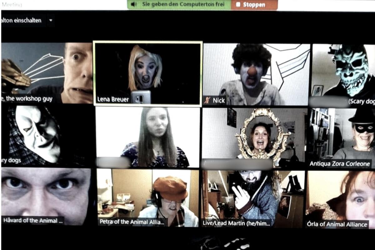 improfest online halloween edition