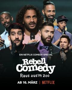 Rebell Comedy Plakat