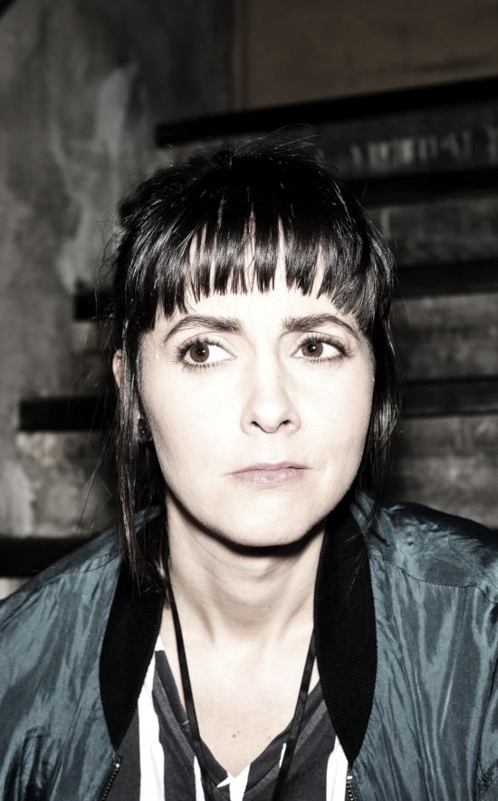 Die Schauspielerin und Autorin Alice Gruia