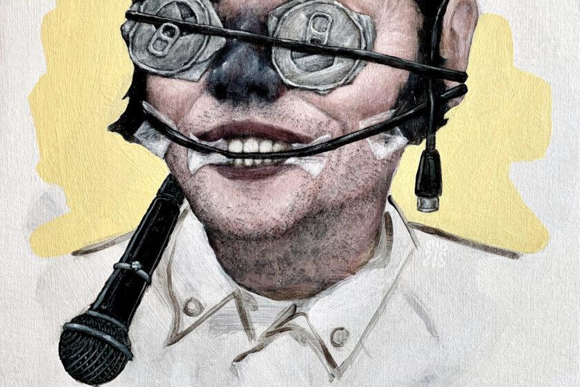Artwork des alternativen Covers von Running the Light von Sam Tallent