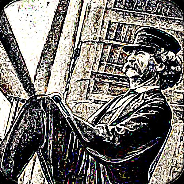 Der US-amerikanische Autor Mark Twain