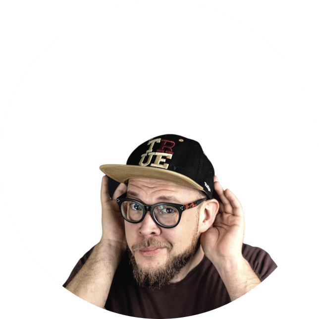 Comedian Toby Käp